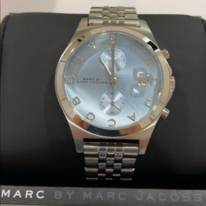 Silver Marc Jacobs watch